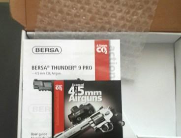 Bersa Thunder 9 Pro