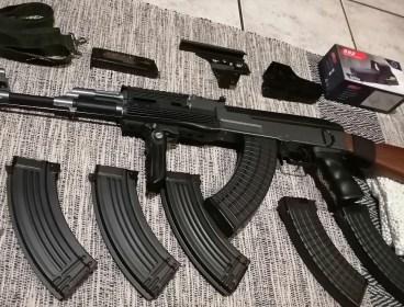 CYMA AK47 with extras (Reposting)