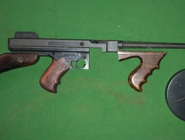 King arms m1928 with original tommy buttstock