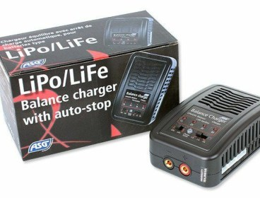 ASG 17942 AUTO STOP CHARGER, LIPO LIFE