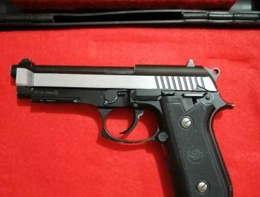 Pistol Blowback gas Co2. Beretta /Taurus M92. R750. NEGOTIABLE