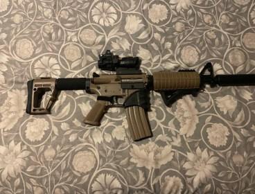 Rifle Electric Blowback