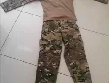 Emerson Multicam uniform set