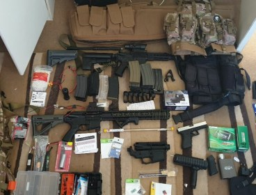 Airsoft collection
