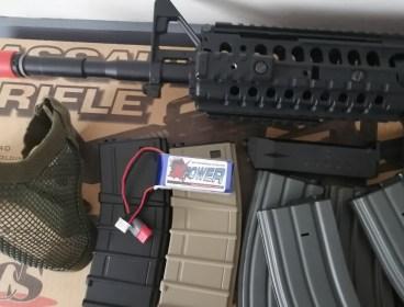 Ics m4 assault rifle.