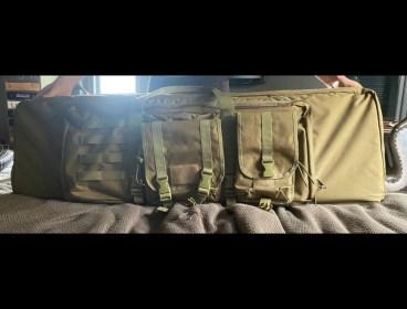 Double rifle bag