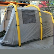 Inflatable 4 man tent