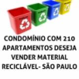 CONDOMÍNIOS  - VENDA DE MATERIAL RECICLÁVEL
