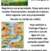 Cadastro Ambiental Rural e Outorga d'água