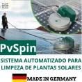 PvSpin Sistema Mecânizado para Limpeza de Fotovoltaicos PRÊMIO INOVAÇÃO 2018