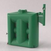 Cisterna Vertical Modular 1000 Litros Com Filtro E Clorador - Tecnotri