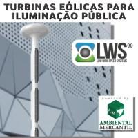 TURBINAS EÓLICAS URBANAS  LWS - VERTICAIS E HORIZONTAIS - PEQUENAS E DE ALTA EFICIÊNCIA - TECNOLOGIA ALEMÃ