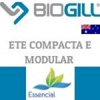 BIOGILL ETE COMPACTA - BIOTECNOLOGIA PARA TRATAMENTO DE EFLUENTES