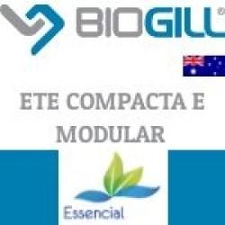 BIOGILL ETE COMPACTA - NANOTECNOLOGIA PARA TRATAMENTO DE EFLUENTES