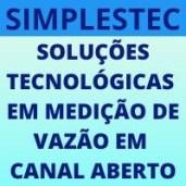 SIMPLESTEC - Medição canal aberto
