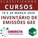 CURSO SOBRE INVENTÁRIO DE EMISSÕES GEE, PRESENCIAL (SUSPENSO DEVIDO COVID19)