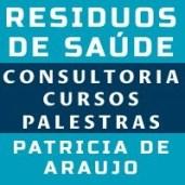 Consultoria, cursos presenciais, palestras sobre resíduos de saúde RSS - Patricia de Araujo