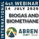 4th ABREN International Webinar: Biogas and Biomethane