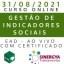 CURSO DE GESTÃO DE INDICADORES SOCIAIS, EAD AO VIVO, EM TEMPO REAL