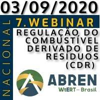 7. WEBINAR ABREN: REGULAÇÃO DO COMBUSTÍVEL DERIVADO DE RESÍDUOS (CDR)