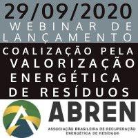 """""""COALIZÃO PELA VALORIZAÇÃO ENERGÉTICA DE RESÍDUOS"""" - WEBINAR DE LANÇAMENTO"""