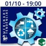 01/10 WEBINAR SOBRE 'SANEAMENTO E EMPRESAS PRIVADAS' - IAUB SÉRIE TENDÊNCIAS