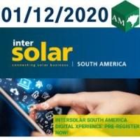 01/12/2020 INTERSOLAR SOUTH AMERICA DIGITAL XPERIENCE - EVENTO INTERNACIONAL