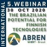 5th International Webinar ABREN - The Brazilian Potential for Finnish Technologies