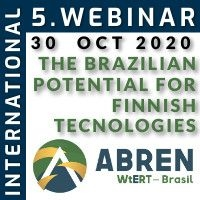 5th International Webinar ABREN - The Brazilian Potential for Finnish Technologies