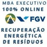 MBA EAD FGV Executivo em Administração: Recuperação Energética e Tratamento de Resíduos