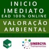 CURSO DE VALORAÇÃO AMBIENTAL | EAD ONLINE COM INICIO IMEDIATO