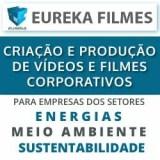 EUREKA FILMES - CRIAÇÃO E PRODUÇÃO DE VÍDEOS E FILMES CORPORATIVOS PARA EMPRESAS DOS SETORES DE ENERGIAS,  MEIO AMBIENTE E SUSTENTABILIDADE