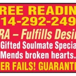 FREE READING 714-292-2498