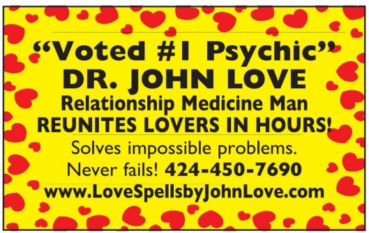 """Voted #1 Psychic"""