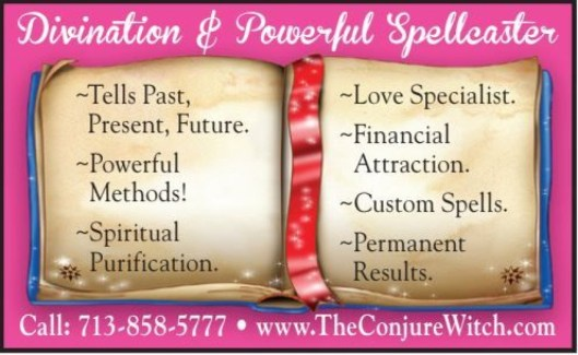 Divination & Powerful Spellcaster