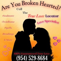 True Love Locator Call! 954-529-8684