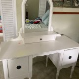 Pottery Barn Desk/Vanity for sale