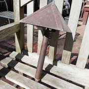 For Sale: Copper Path Light, Tablecloths, Tables, Door Knobs