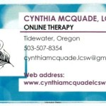 Cynthia McQuade, LCSW ONLINE THERAPY