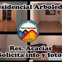 VENDO CASA RES. ARBOLEDAS, LAS ACACIAS, EN PRIVADO , ZONA LOURDES