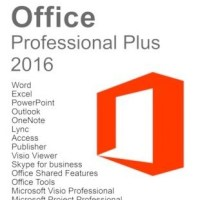 Microsoft Office 2016 Professional Plus Visio Pro Project Pro x86 / X64