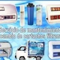 Servicio de Mantenimiento y cambio de cartuchos para filtros de agua