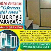 OFERTA DE VENTANAS