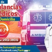 SERVICIO DE AMBULACIAS Y MEDICOS