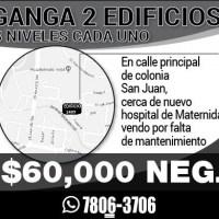 GANGA 2 EDIFICIOS COLONIA SAN JUAN