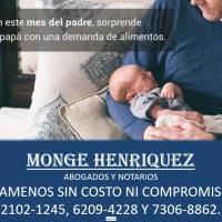 EN EL MES DEL PADRE PROCESO FAMILIAR POR DEMANDA DE ALIMENTOS