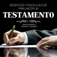 ASESORIA PREVIA Y ELABORACION Y LEGALIZACION DE TESTAMENTO