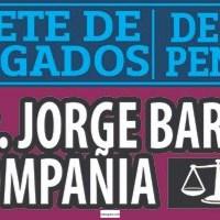 BUFETE DE ABOGADOS DE LO PENAL LIC. JORGE BARRAZA & COMPAÑIA