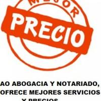 SERVICIOS LEGALES DE MEJOR PRECIO