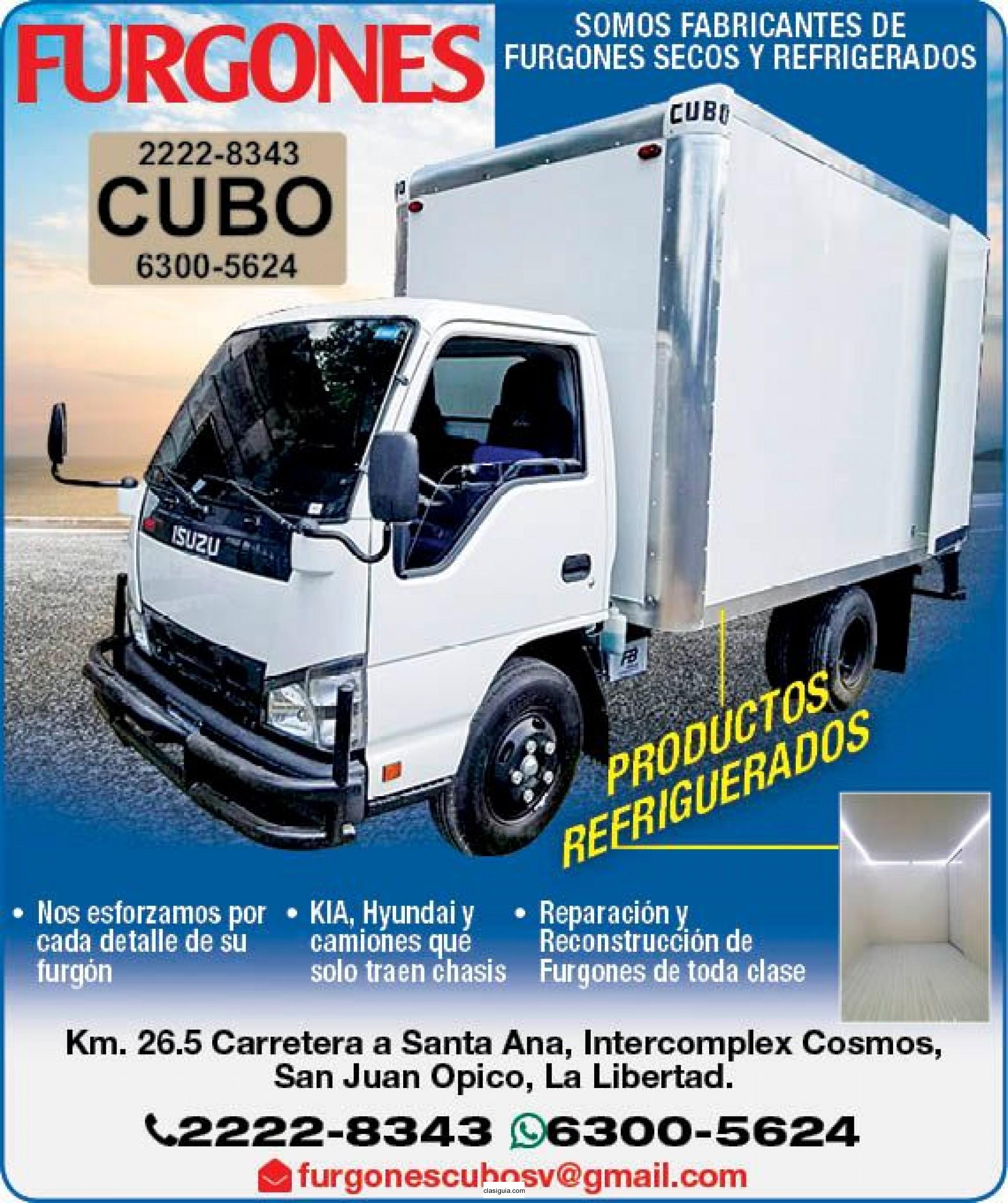FURGONES CUBO